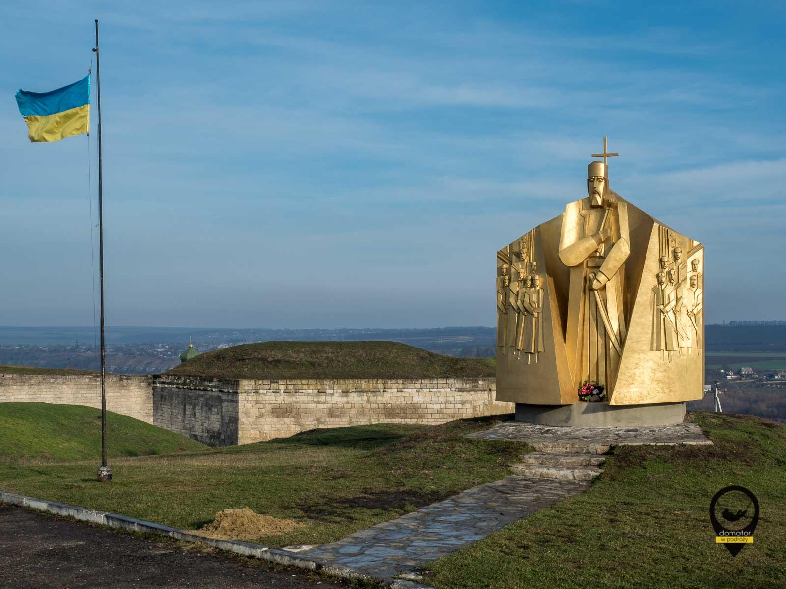 Pomnik hetmana Piotra Konaszewicza-Sahajdaczny,Chocim