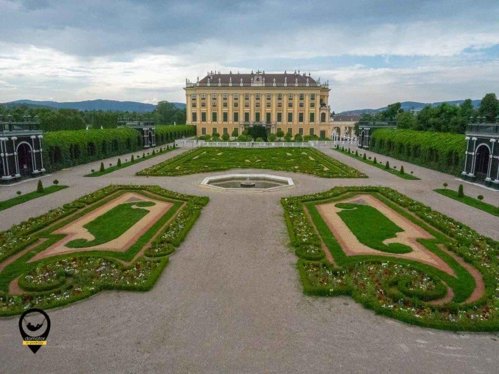 Ogrody pałacowe Schönbrunn