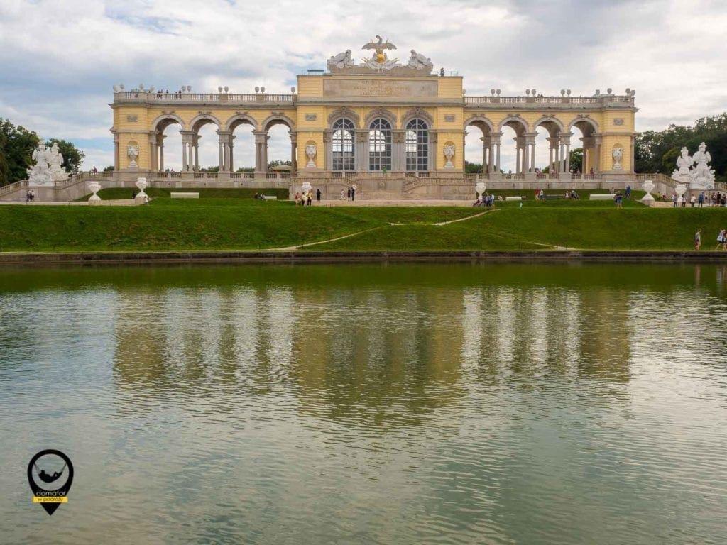Glorieta w parku Schönbrunn - Wiedeń