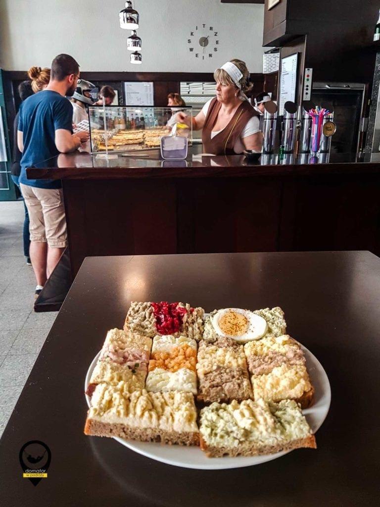 Wiedeńskie kanapki z tradycją - Trześniewski