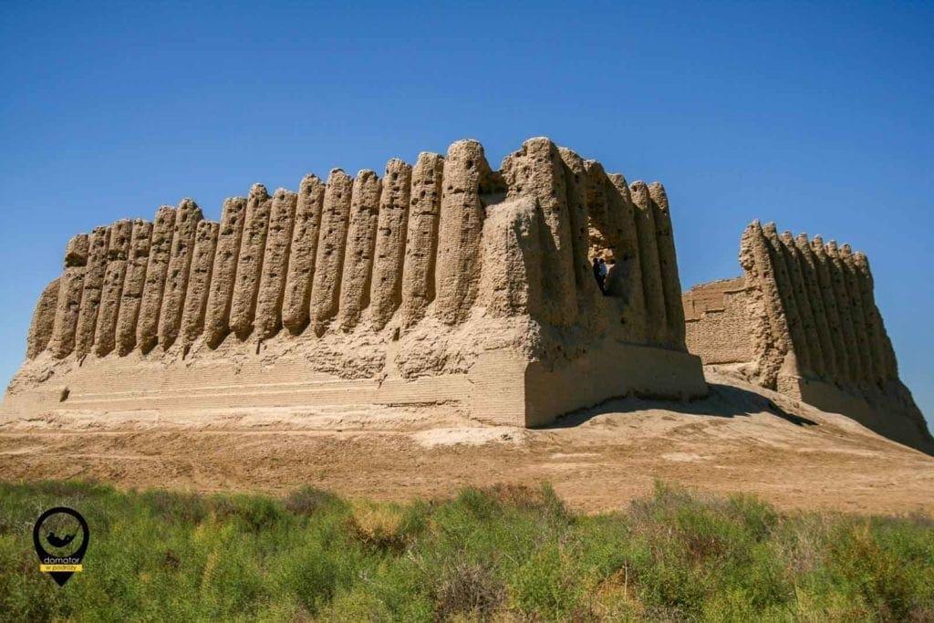 Wielkie Kyz Kala - ruiny dawnej Aleksandrii i Antiochii Margiańskiej