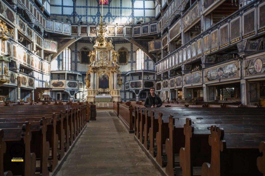 Ołtarz -Kościół Pokoju w Jaworze