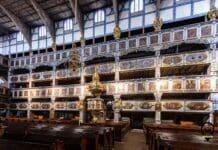 Empora-Kościół Pokoju wJaworze