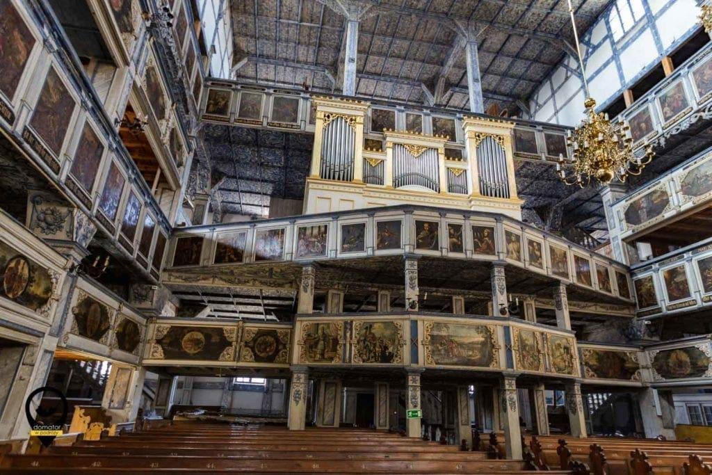 Organy-Kościół Pokoju w Jaworze