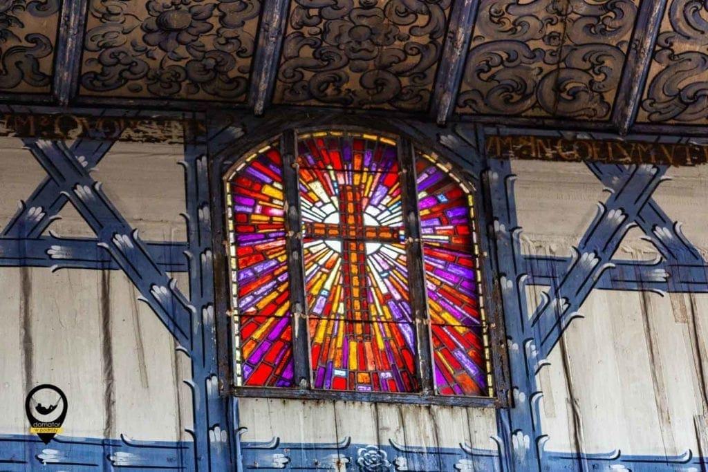 Witraż-Kościół Pokoju w Jaworze