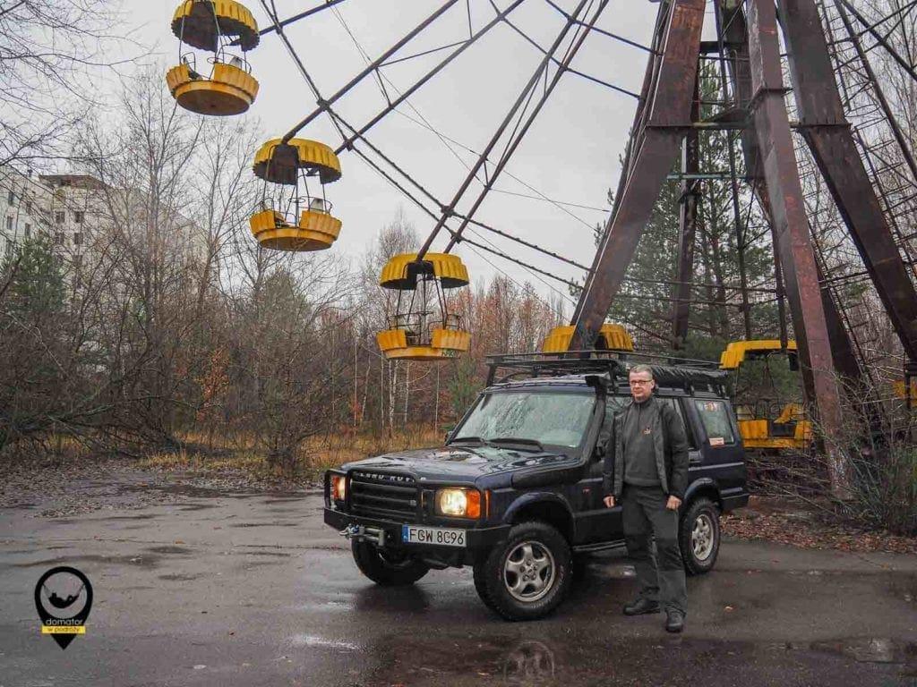 Samochodem po Czarnobylskiej Zonie