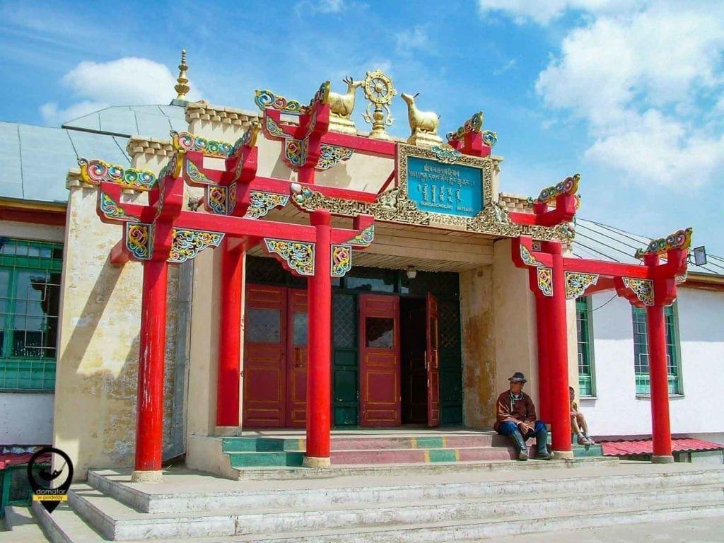 Gandan - przyklasztorna akademia buddyjska