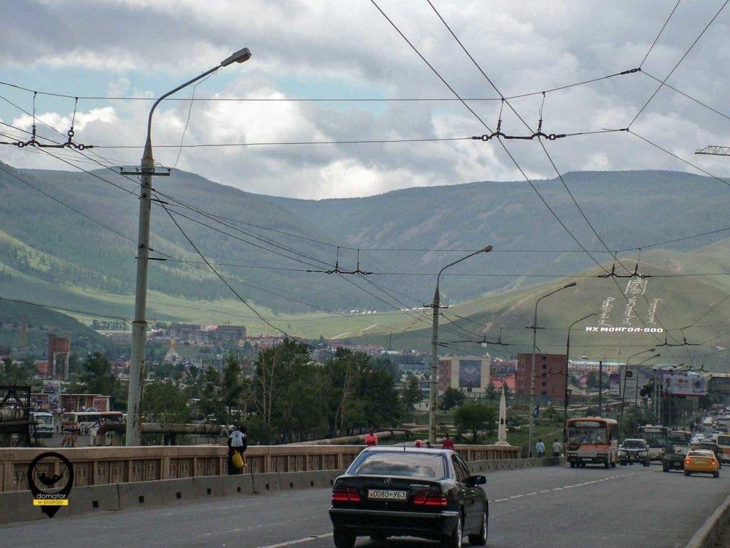Panorama na Ułan Bator