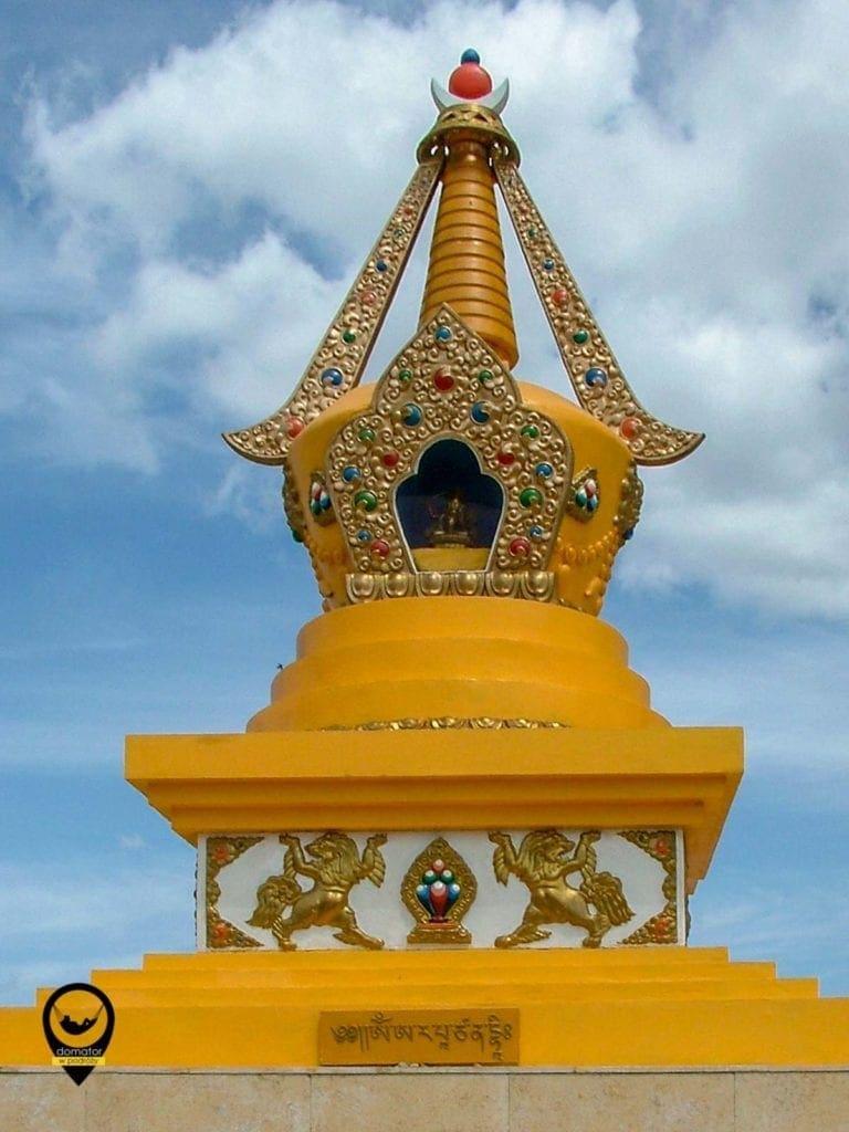 Stupa w Mongolii nazywana Suburganu